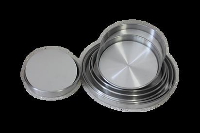 Molde de Aluminio circular para Kuchen de 20,22,24,26,28,30,32,34,36,38 y 40 cm.