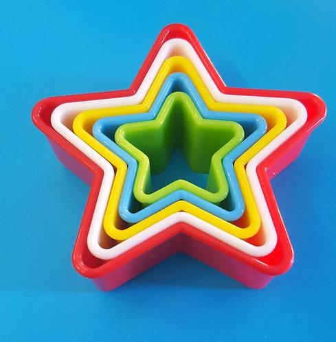 Cortante plástico, Estrella