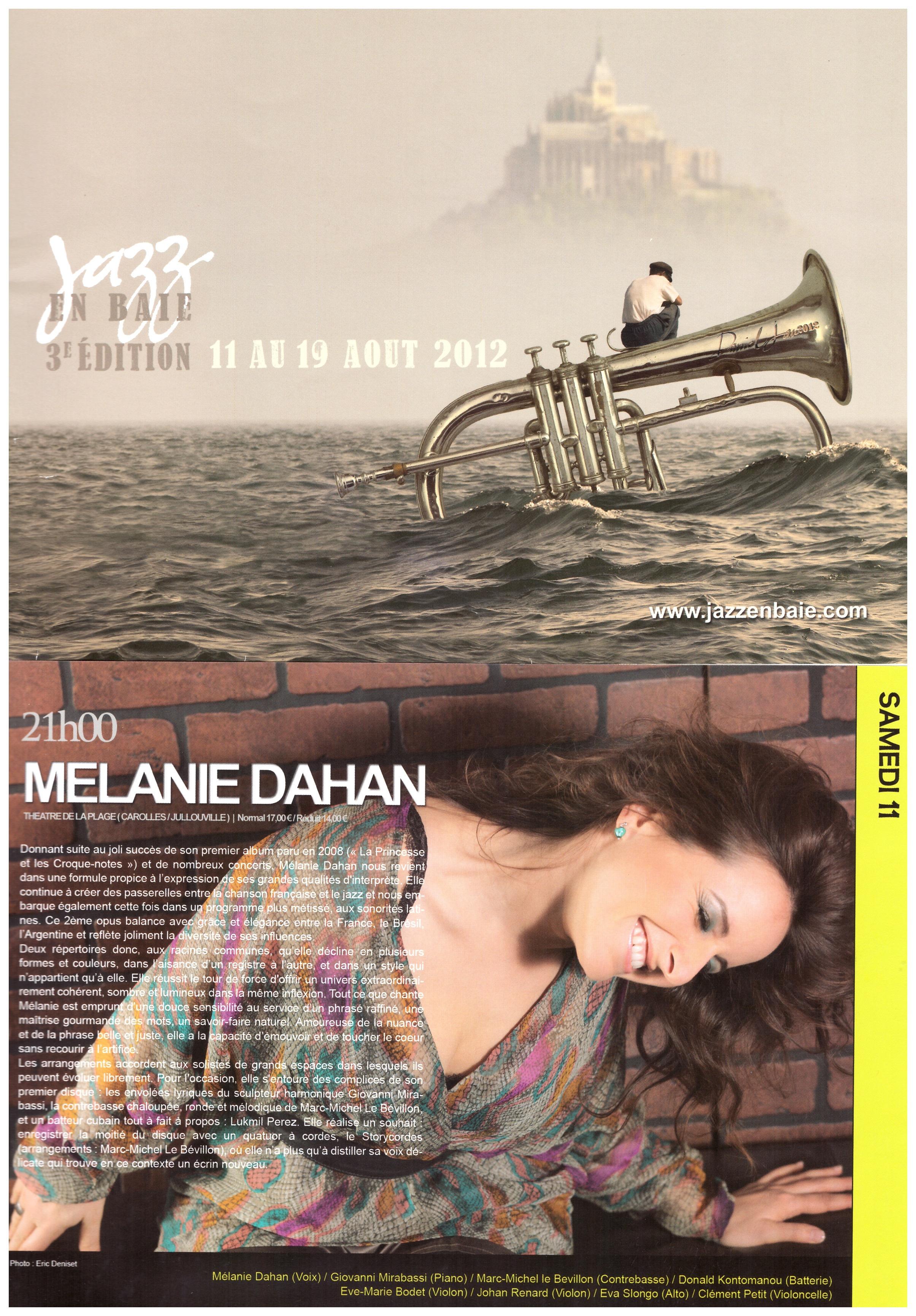 Festival Jazz en baie