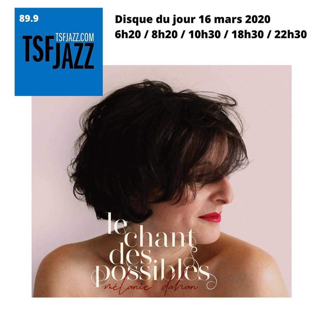 Disque du jour sur Tsf jazz
