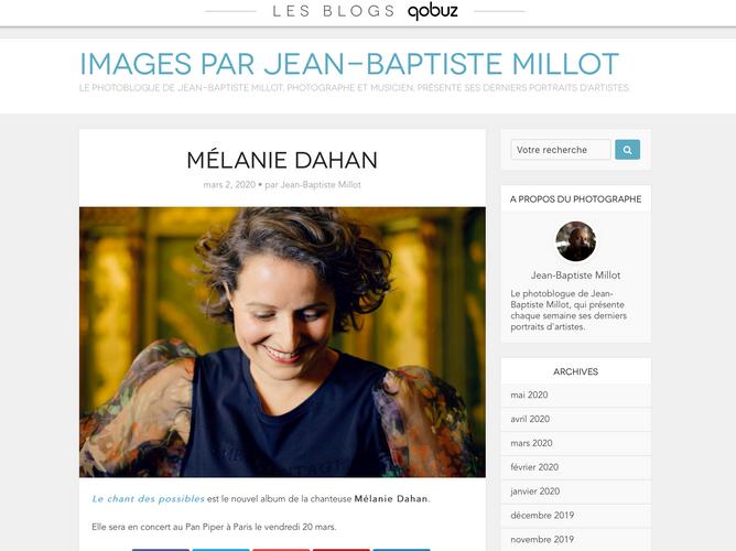 Blog Qobuz JB Millot