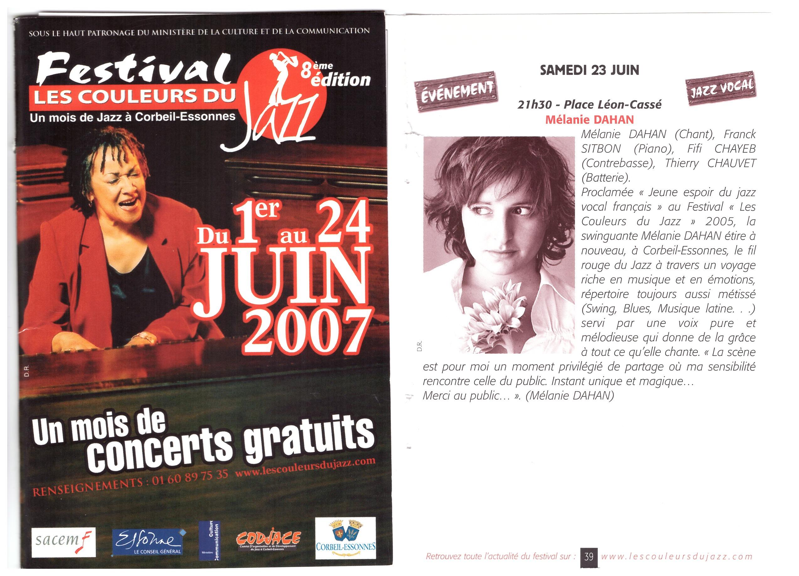 Festival Couleurs du jazz