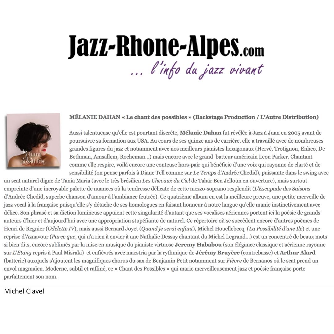 Jazz Rhone Alpes