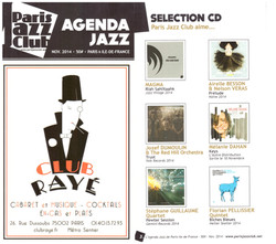 "Paris jazz club - Selection album ""Keys"""