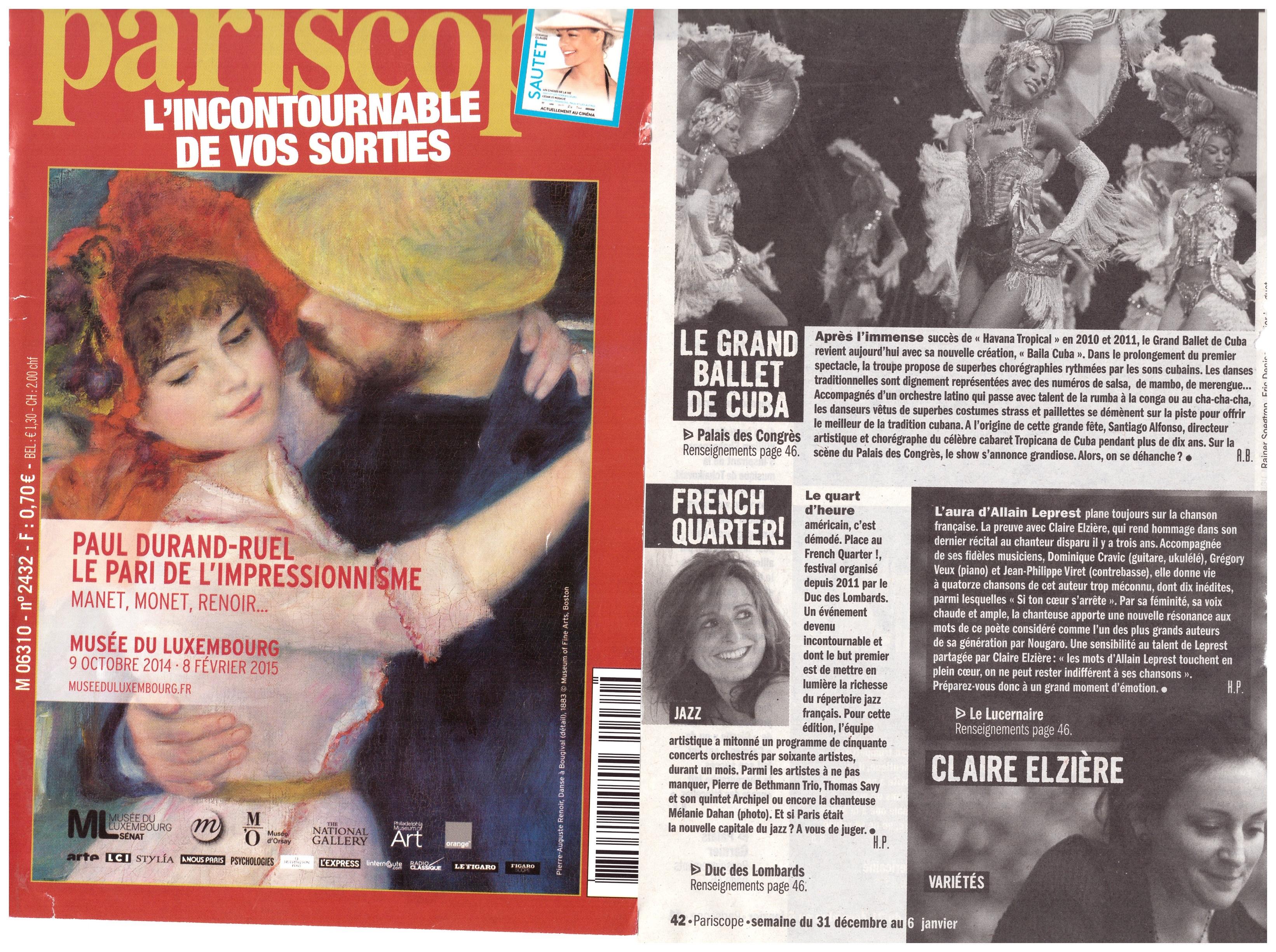 Pariscope Festival French Quarter