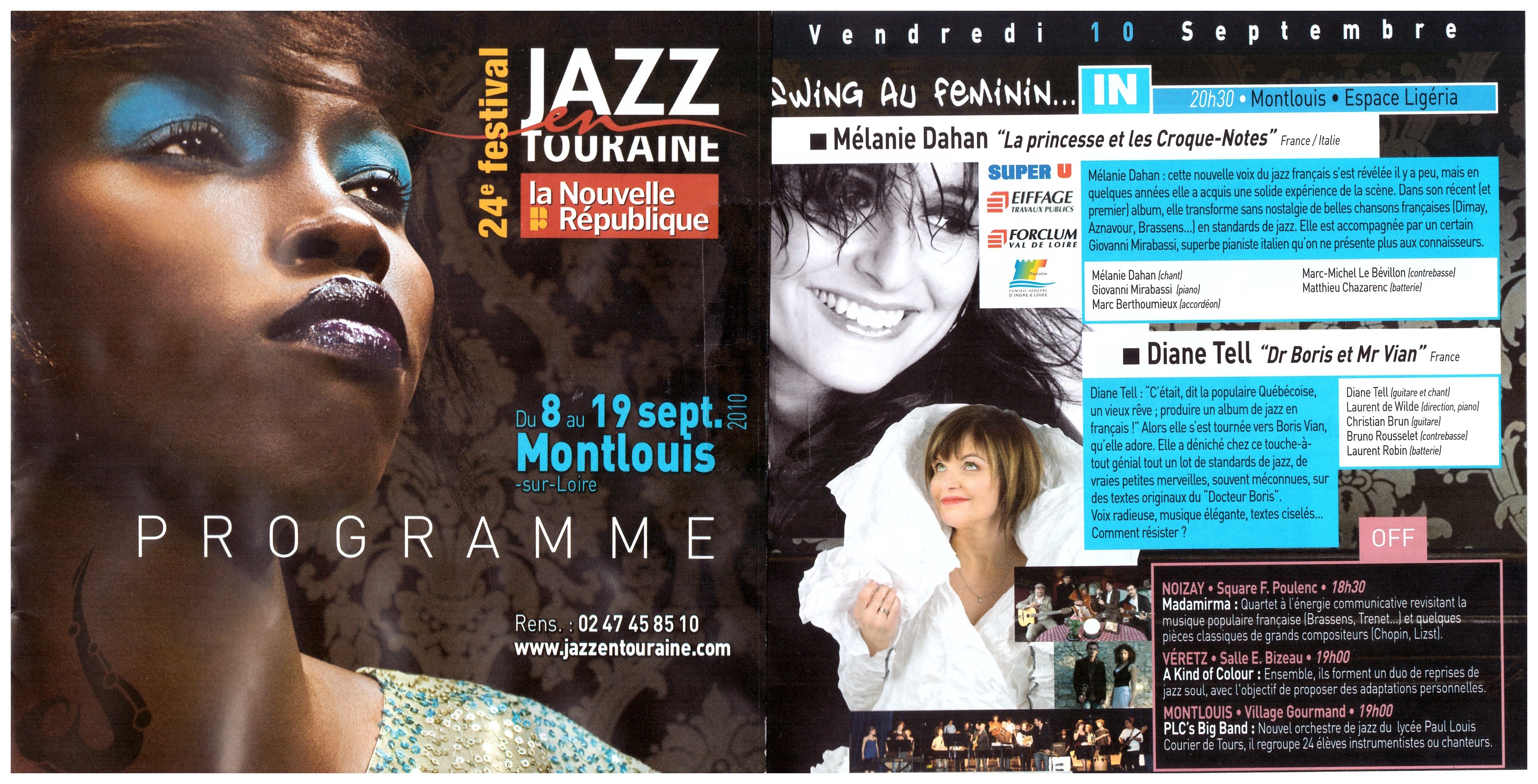 Festival Jazz en touraine