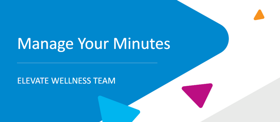 Manage Your Minutes