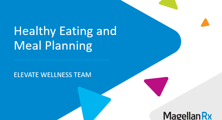 Healthy Eating and Meal Planning