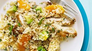 Citrus Quinoa Chicken Salad