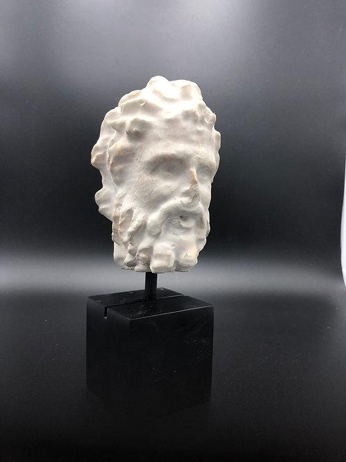 White Roman Buste
