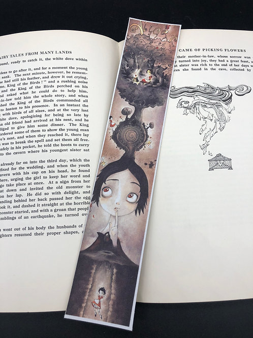 Bookmark Alice in Wonderland