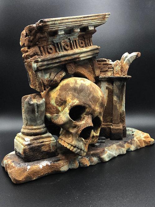 Alchemic Skull Roman's ruins