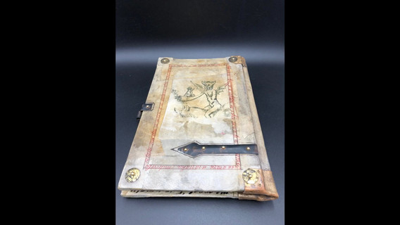 Video to see all the page of the manuscript