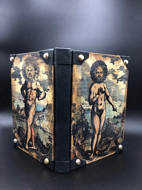 Alchimia wood-painted notebook