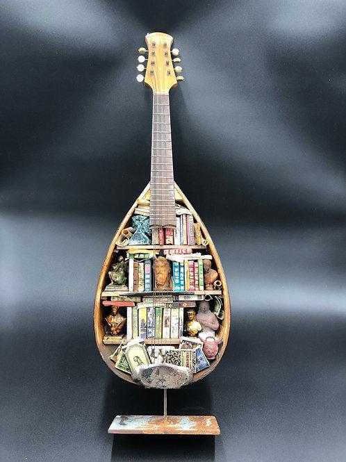 Mandolino miniature Bookcase