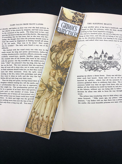 Bookmark Grimm Fairy tales