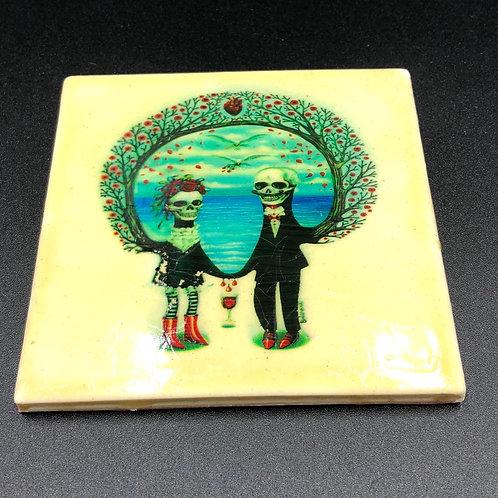 Ceramic Santa Muerte