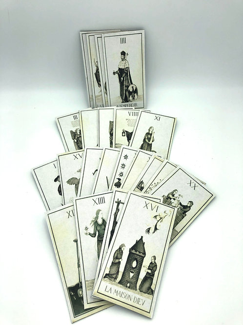 Tarot Cards french Art Deco'