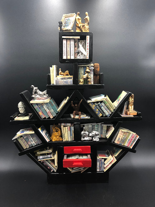 Ettore Sottsass Miniature Bookcase