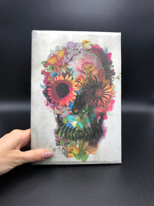 Flowers Skull