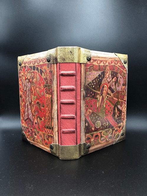 Armenian wood-painted notebook