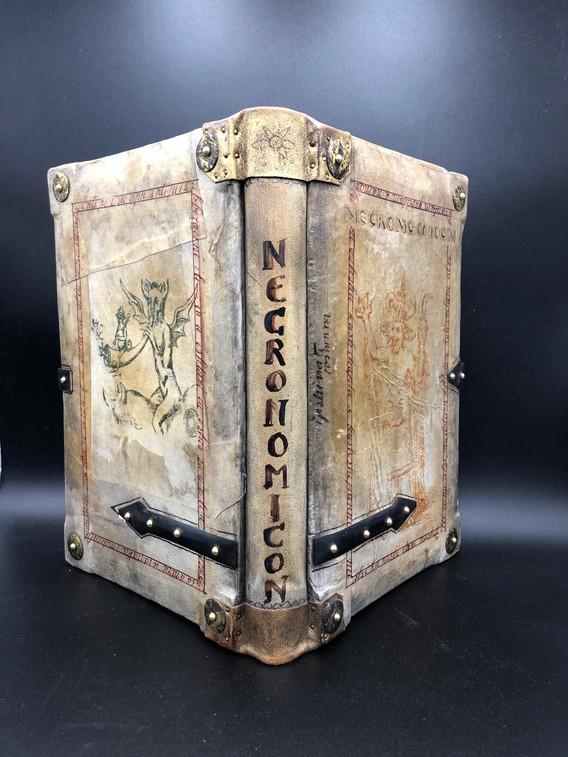 Hardcover in antique vellum