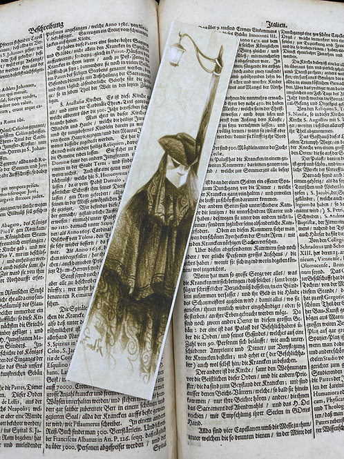 Bookmark Bauta Mask