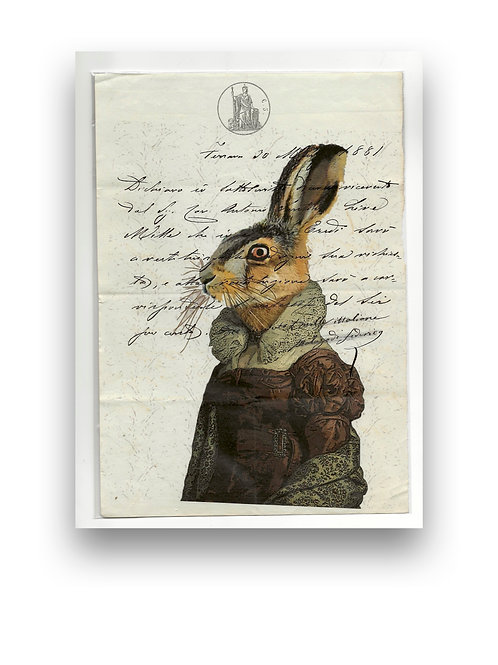 Lady Rabbit manuscript