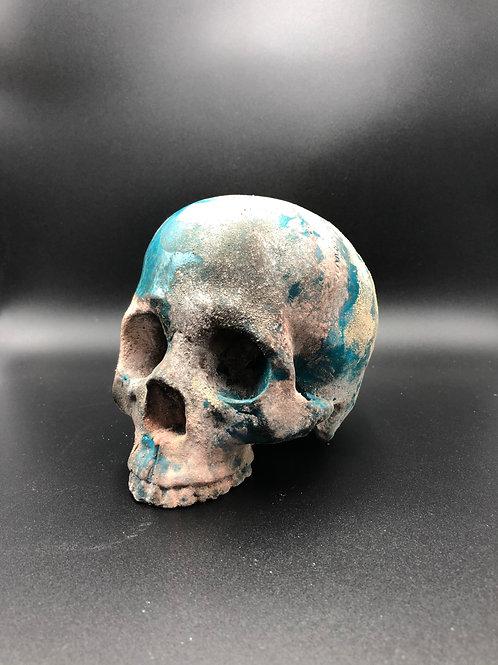 Skull tourquoise