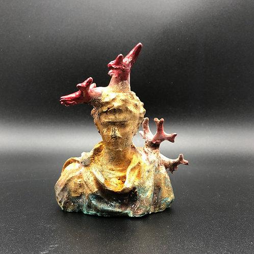 Coral bust Emperor