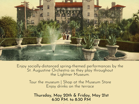 "CONCERT ALERT: ""Music in the Museum"" - May 20/21 2021"