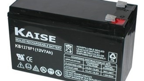 Bateria 7Ah 12V AGM Ciclo Profundo Marca Kaise