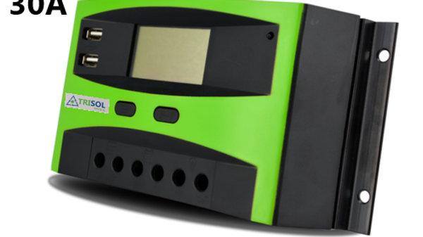 Controlador Regulador 12/24V 30A Mod TK con USB