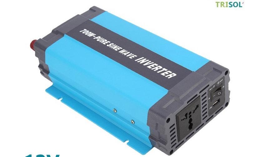 Inversor  700W Sinusoidal Puro Dc 12V Ac 220
