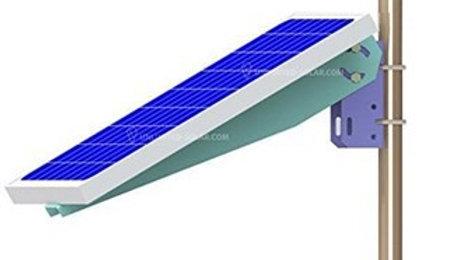 Soporte Aluminio Para Panel Solar Brazo Para Poste O Pared Hasta 30W