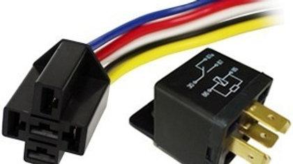 Rele 12V 40A Interruptor 5 pins