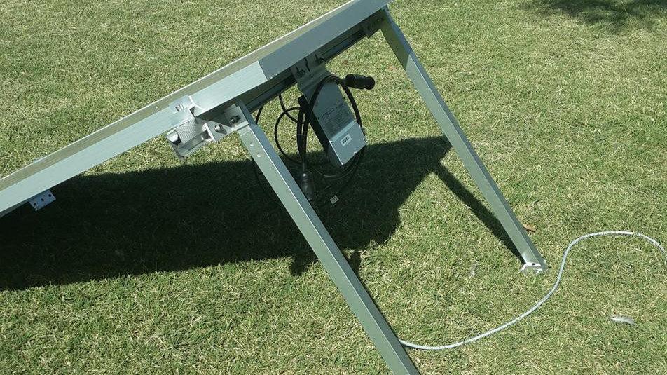 Soporte De Aluminio Para Panel Solar De Hasta 320 Watts