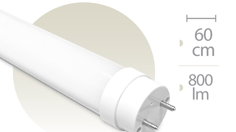 Tubo Luz LED 120 cmtr 18,5W Luz Neutra