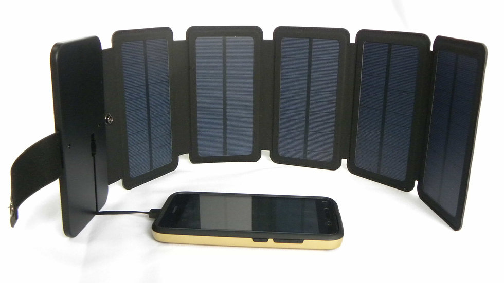 Panel Solar 6,7w  Plegable con 1 puerto USB