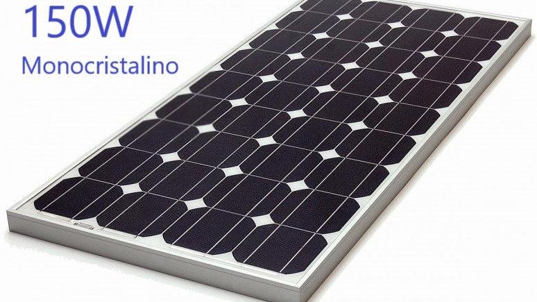 Panel Solar Fotovoltaico 150W 12V Mono.