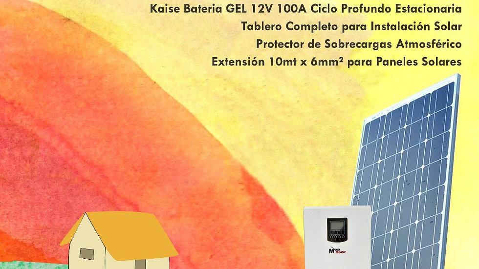 Kit solar 1000w Premium Rapida instalacion