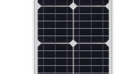 Panel Solar Fotovoltaico 30W 12V Monocristalino