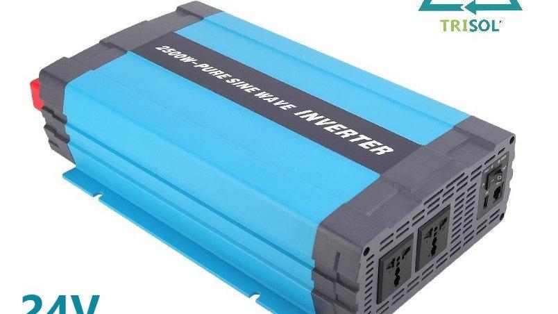 Inversor  2500W Sinusoidal Puro Dc 24V Ac 220