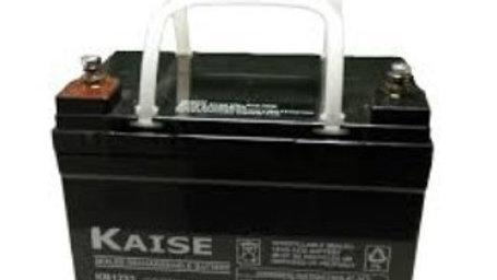 Bateria 33Ah 12V AGM Ciclo Profundo Marca Kaise