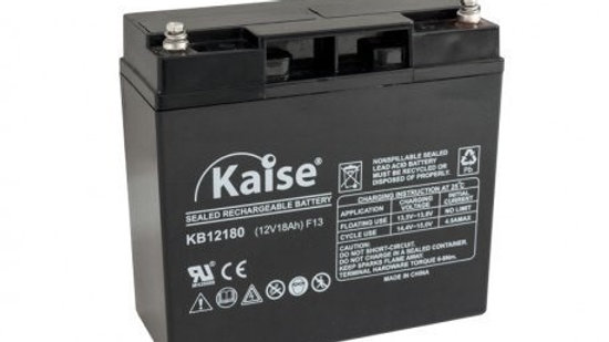 Bateria 18Ah 12V AGM Ciclo Profundo Marca Kaise