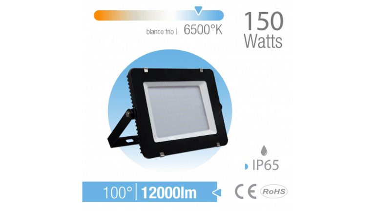 REFLECTOR LED 150W EXTERIOR IP65 BLANCO FR�O