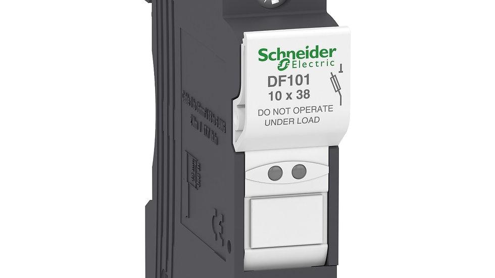 Portafusible Schneider Unipolar 38x10 hasta 32A