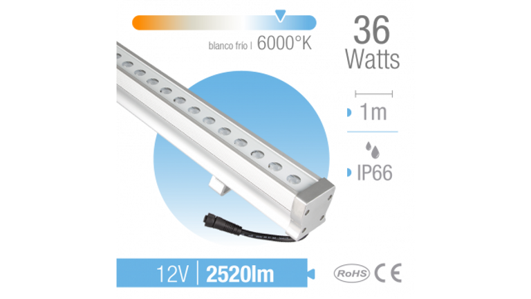 Ba�ador LED 36W Luz fria