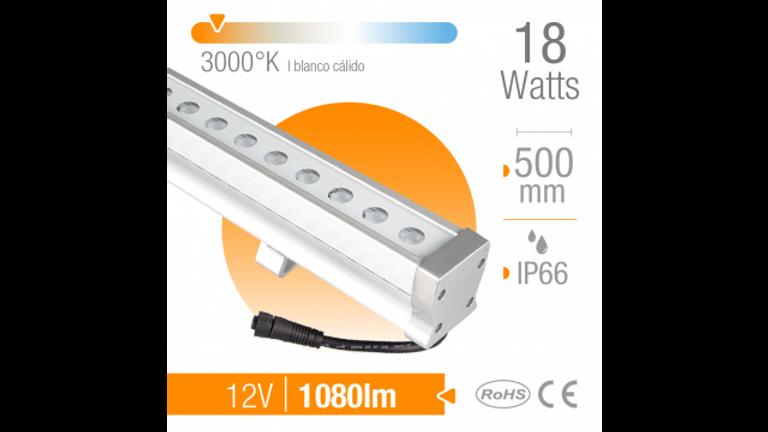 Ba�ador LED 18W Blanco Calido 24 LEDsExterior IP66