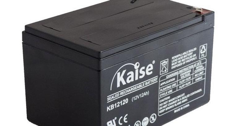 Bateria 12Ah 12V AGM Ciclo Profundo Marca Kaise